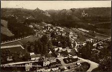 Oybin Sachsen Zittauer Gebirge Lausitzer Kamm 1925 Scharfenstein Panorama Dorf