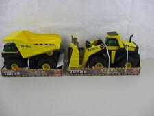 Lot Of 2 Tonka Steel TS 4000 Front Loader & Tonka TS 4000 Dump Truck-New