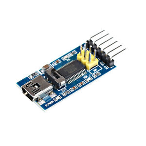 5V / 3.3V FTDI FT232RL USB to TTL Serial Converter Adapter Module For Arduino^lk