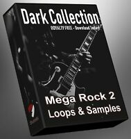 Rock Dark Collection Part 2 Loops Presonus Ableton Logic FL Studio Cubase Reason