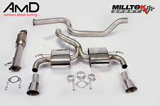 Mk2 Focus RS Milltek Acero Inoxidable No Res Post Catalizador Escape con