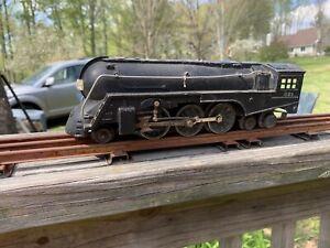 Lionel Trains Postwar 221 Hudson Steam Engine for Parts/Repair (Does not run)