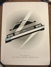 Back To The Future Brandon Schaefer Movie Print Poster Mondo Michael J Fox BTTF