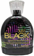"Supre Tan Just Black Absolute Black Bronzer Indoor Tanning Lotion 13.5 oz ""New"""