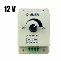DC 12V 8A Light Dimmer Brightness Control For Single Color LED Strip -20~60℃ GB