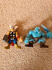 RARE Superhero Squad Sif Frost Thor And Thor Set Figures