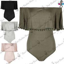 Ruffle Viscose Short Sleeve Tops & Shirts for Women