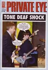 PRIVATE EYE 1074 - 21 Feb - 6 Mar 2003 - Tony Blair - TONE DEAF SHOCK