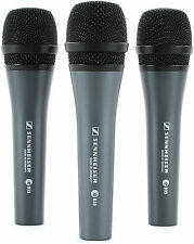 Sennheiser E835 Microphone, Pack of 3 - THREEPACK-835 - 3 Pro Mics -1 Low Price!