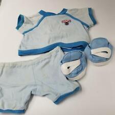 Vintage Teddy Ruxpin Wow Workout Outfit Blue 1985 Sweatshirt Pants Headband Shoe