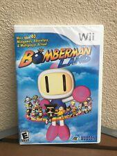Bomberman Land (Nintendo Wii, 2008) New Sealed Video Game