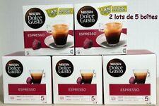 DOLCE GUSTO Espresso 10 boîtes 16 capsules préparations pour 160 boissons neuves