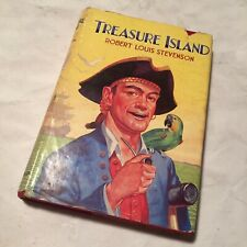 Treasure Island by R.L Stevenson - Vintage Hardback In Dust Jacket - Dean & Son