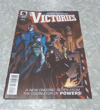 SIGNED The Victories # 1 (2013) by Michael Avon Oeming // Dark Horse Comics Book