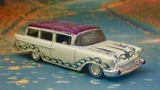 SLAMMED 1957 57 Chevrolet Kustom Hot Rod Wagon 1/64 Scale Limited Edition K