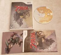 The Legend of Zelda Twilight Princess Nintendo Wii COMPLETE VIDEO GAME DISC NICE