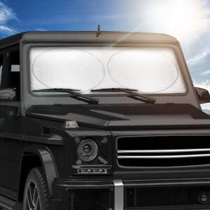ACDelco Jumbo Car Sun Shade Heat Reflector - Complete Windshield Coverage