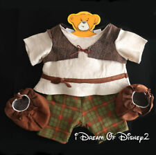 Build-A-Bear SHREK THE THIRD COSTUME Complete with Suede Moccasins Teddy Clothes