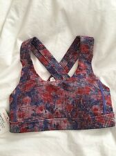 Lululemon All Sport Bra III NWT Size 2 CHFD Color Luxtreme