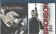DEATH WISH COLLECTION 1/2/3/4 CHARLES BRONSON NEW SEALED 1 TO 4 NEW BLU-RAY SET