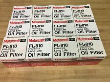Oil Filter MOTORCRAFT FL-810 case of 12 fits HONDA GM FORD KIA MAZDA MITSU 4CYL