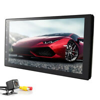 """7"""" Double 2DIN In dash Car stereo Radio Player GPS DVD Navigation WiFi + camera"""