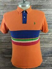 VTG Polo Ralph Lauren Mens Polo Striped Size Large