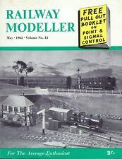 Railway Modeller May 1962 Duston West, Painting, EM Gauge Track, 2-6-2 Tank