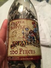 PUZZLE IN A BOTTLE Pirates of the Caribbean Disney Parks Treasure Map Mickey