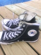 Converse Chuck Taylors High Top Tennis Shoes Vintage Men's 8 Worn Very Comfort