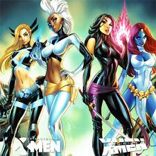 UNCANNY X-MEN #1 Signed ART PRINT J Scott Campbell EXTRAORDINARY Psylocke MAGIK