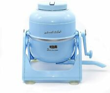 NEW HOME RV OUTDOOR NON ELECTRIC PORABLE COMPACT MINI WASHING MACHINE BLUE