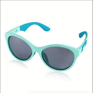 Kids Speedo Sunglasses Seafoam Smoke Green UV 400 Floating Frame Polarized OSFM