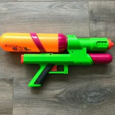 Larami SUPER SOAKER XP 65 Water Gun Green and Orange Xtra Power