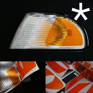 US - Design - Folie für weiße Blinker Audi A4 B5 Typ8D rechts/links Design 2