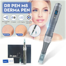 Dr Pen M8 Latest Model Micro Needling Device Resurfacing Anti-aging + Cartridges