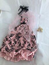 Barely a Sigh Dress + Shawl - Tonner Ellowyne Wilde doll fashion outfit floral