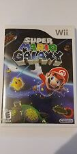 Super Mario Galaxy (Nintendo Wii, 2007) Complete in Box! Tested! Fast Shipping!