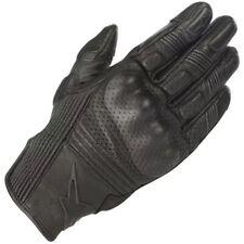 Alpinestars Mustang V2 Gloves Black Leather Short Motorcycle Gloves New
