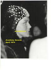 ANN MARGRET IN BATMAN HOOD AT OSCARS APRIL 74 VINTAGE 8x10 UNSEEN PRESS PHOTO 2a