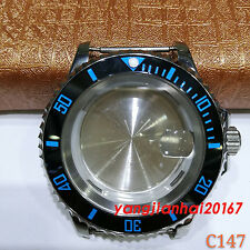 41mm Bliger SS Watch Case Fit ETA 2836DG2813/3804Miyota 8205/8215 Movement C147