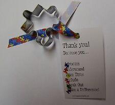 "Puzzle Piece Mini Cookie Cutter 2"" Autism Awareness"