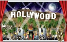Hollywood Hills Insta-View Awards Night Vip Party Wall Mural Scene Decoration