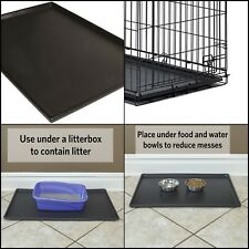 New listing Dog Crate Tray 36x24 Replacement Pan Pet 36 Inch For Kennel Cage 36in Bed Screen