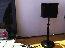 New one Retro Style Usb Power Yellow Light Led Table Lamp (Black)