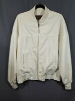 Vintage quality SEARS the men's store outerwear JACKET full zip Bomber Style XLT