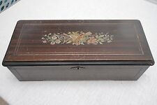 Antique Cylinder Music Box - Plays Beautifully!