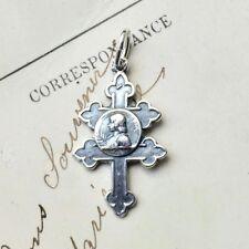 St Joan of Arc Cross - Antique Replica