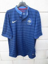 Maillot EQUIPE de FRANCE LOEB n°24 NIKE shirt Dri-Fit FFF bleu trikot jersey L