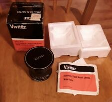 Excellent VIVITAR 28MM F/2.5 WIDE-ANGLE MANUAL FOCUS LENS for Nikon F,